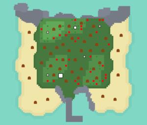 離島⑦:広葉樹の島その1
