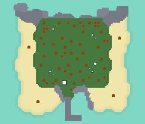 離島⑧:広葉樹の島その2