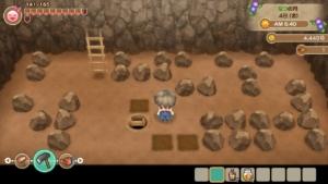 泉の鉱石場