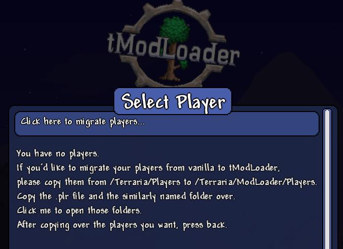 【テラリア】tmodloaderでデータを移行する方法