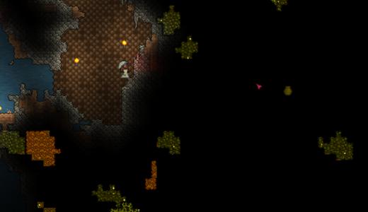 【テラリア】探検家のポーションの作り方!これで採掘が圧倒的に楽になる!